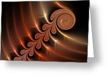 Fractal Ikarus Greeting Card