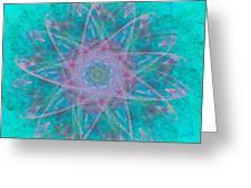 Fractal Magic Greeting Card
