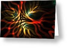 Fractal Swirl Greeting Card