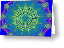 Fractalscope 2 Greeting Card