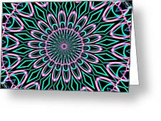 Fractalscope 21 Greeting Card