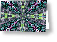 Fractalscope 24 Greeting Card