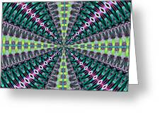Fractalscope 25 Greeting Card