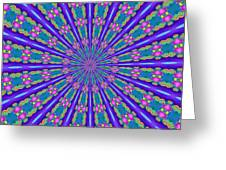 Fractalscope 26 Greeting Card