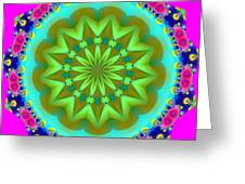 Fractalscope 28 Greeting Card