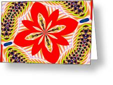 Fractalscope 6 Greeting Card