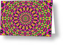 Fractalscope 7 Greeting Card