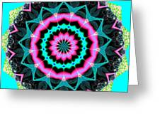 Fractalscope 8 Greeting Card