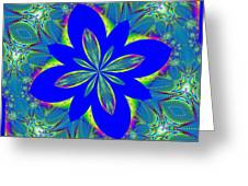 Fractalscope 9 Greeting Card