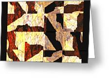 Fractured Overlay Il Greeting Card