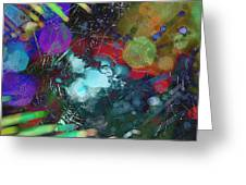 Fractured Web Greeting Card