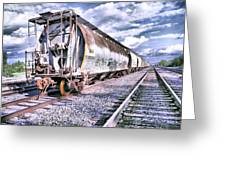 Graffiti Train Greeting Card