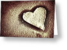 Imprint On My Heart Greeting Card