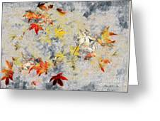 Fragments Of Fall Greeting Card