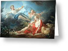 Fragonard's Diana And Endymion Greeting Card