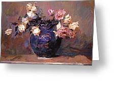 Fragrant Rose Petals Greeting Card