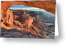 Framed Canyon Greeting Card