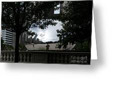 Framing Cloudgate Greeting Card