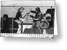 Jamming In Oakland 1976 Greeting Card