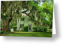 Frampton Plantation House Greeting Card