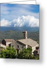 France, Corsica, La Alta Rocca, Quenza Greeting Card