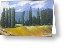 France Landscape Greeting Card