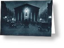France Paris, C1920 Greeting Card