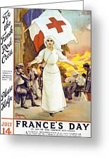 France's Day Greeting Card by Anonymous