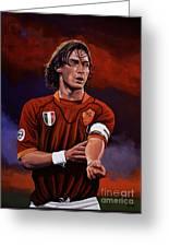 Francesco Totti Greeting Card