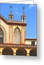 Franciscan Monastery In Nice France Greeting Card