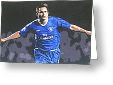 Frank Lampard - Chelsea Fc Greeting Card