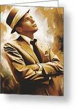 Frank Sinatra Artwork 1 Greeting Card