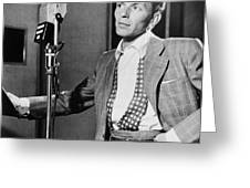 Frank Sinatra Greeting Card by Mountain Dreams