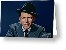 Frank Sinatra Greeting Card by Paul Meijering