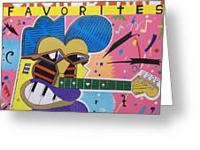 Frank Zappa Orchestral Favorites Greeting Card