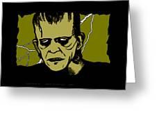 Frankenstein 31' Greeting Card