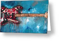Frankenstrat Greeting Card