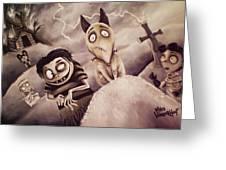 Frankenweenie Greeting Card