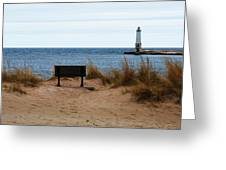 Frankfort Shore Greeting Card