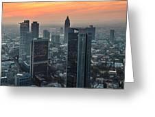 Frankfurt 06 Greeting Card