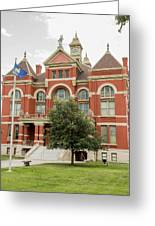 Franklin County Courthouse 2 Greeting Card