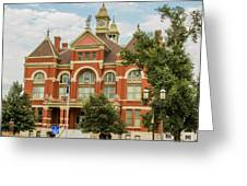 Franklin County Courthouse 4 Greeting Card