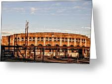 Franklin Field In The Morning Greeting Card