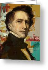 Franklin Pierce Greeting Card