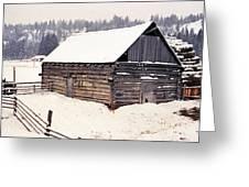 Fraser Valley Barn Greeting Card