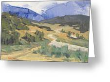 Frazier Park Road Greeting Card