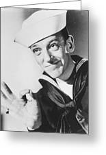 Fred Astaire In Follow The Fleet  Greeting Card