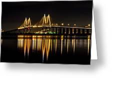 Fred Hartman Bridge Greeting Card
