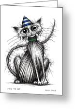 Fred The Cat Greeting Card