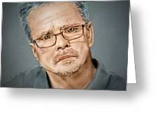 Freddie Roach II Greeting Card